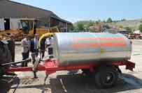 Köylerde Yangına Karşı Su Tankeri