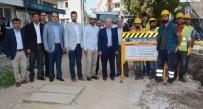 TAHIR ŞAHIN - Lapseki'de Doğal Gaz Hat Döşeme Çalışmaları Başladı