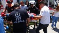 LAMIA - Mersin'de Trafik Kazası Açıklaması 1'İ Ağır 3 Yaralı