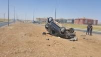Nusaybin'de Trafik Kazası Açıklaması 1 Yaralı