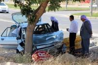 GÖBEKLİTEPE - Otomobil Ağaca Çarptı Açıklaması 4 Yaralı