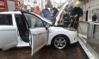 ŞIRINEVLER - Park Halindeki Otomobil Alev Aldı