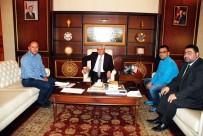 HABER KAMERAMANLARI DERNEĞİ - THKD Başkanı Polatel Ve KKDGC Başkanı Daşdelen'den Vali Doğan'a Ziyaret