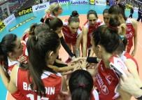 VOLEYBOL ŞAMPİYONASI - A Milli Kadın Voleybol Takımı, Kosova'yı 3-0 Mağlup Etti