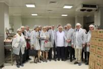 AB Türkiye Delegasyonu Başkanı Berger Ve Beraberindekiler AB Desteği İle Yapılan Et Tesisini Gezdi