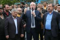 TAŞERON İŞÇİ - Başkan Kurt, Eylemdeki Cam İşçilerini Ziyaret Etti