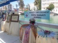 ERCAN YILMAZ - Hükümlü Ve Tutukluların Ebru Sanatı Eserleri Sergilendi