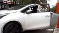 ÇALIŞAN KADIN - Kadın Sürücü El Frenini Çekmeyi Unutursa...