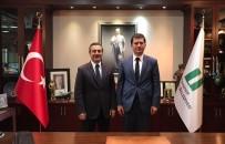 Kaymakam Özbay'dan Başkan Ataç'a Ziyaret