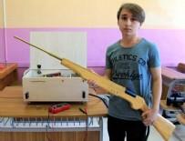 ELEKTROMANYETİK - Lise öğrencisinden 'elektromanyetik silah'
