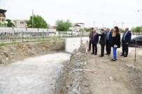 İSTİNAT DUVARI - MASKİ, 104 Mahallede Taşkınları Ortadan Kaldırdı