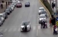 MOBESE KAMERALARI - Mersin'deki Trafik Kazaları Mobeselere Yansıdı