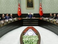 MILLI GÜVENLIK KURULU - Beştepe'de kritik toplantı