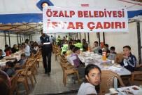 ÖZALP BELEDİYESİ - Özalp Belediyesinden İftar Çadırı