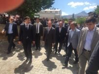 TURGAY ALPMAN - Sağlık Bakanı Recep Akdağ, Tuzluca'da Esnaf Ziyaretinde Bulundu