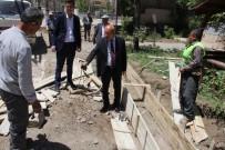 ALI KAHRAMAN - Şerefiye Caddesinde Çalışmalar Devam Ediyor