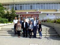 ERASMUS - Ziraat Fakültesi'nden Bulgaristan'a İşbirliği Ziyareti