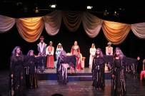 ÇIÇEKLI - 5. Liseler Arası Tiyatro Şenliği Başladı
