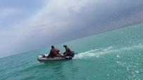 BEYŞEHIR GÖLÜ - Beyşehir Gölü'nde Şişme Botla Olta Avı Yapan 9 Kişi Yakalandı