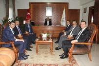 Birlik Vakfı Yöneticileri Vali Aktaş'ı Ziyaret Etti