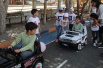 BARBAROS HAYRETTİN PAŞA - Çanakkale'de Öğrencilere 'Trafik Eğitim Pisti'