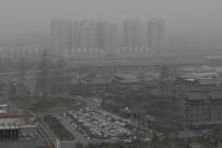 MOĞOLISTAN - Çin'de Kum Fırtınası Tüm Bölgeyi Sardı