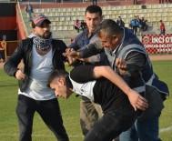 ÇORUM BELEDİYESPOR - Çorum Belediyespor, Altay Maçında Olaylar Çıktı