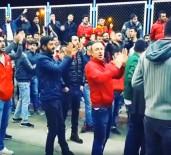 ORDUZU - Evkur Yeni Malatyaspor'a Havaalanında Olaylı Karşılama