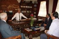 MEDAŞ Genel Müdürü Uçmazbaş, Ünver'i Ziyaret Etti