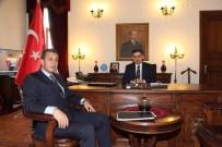 ERCAN TOPACA - Nallıhan Belediye Başkanı Öntaş, Ankara Valisi Topaca'yı Ziyaret Etti