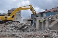 GECEKONDU - Osmanlı Mahallesi Yıkım Çalışmaları Sürüyor