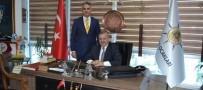 AK PARTİ GENEL MERKEZİ - Osmanlı Ocaklarından Şaban Dişli'ye Destek