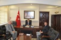 ERKAN KARAHAN - PTT Başmüdürü Cafer Ersoy'dan Malkara Kaymakamı Erkan Karahan'a Ziyaret