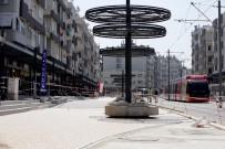 OTOPARK SORUNU - Şarampol Caddesi'nde Çalışmalar Devam Ediyor