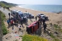 Sinop'ta Trafik Kazası Açıklaması 2 Yaralı