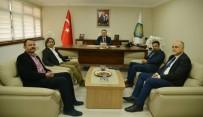 TÜRKIYE DAĞCıLıK FEDERASYONU - Dağcılık Federasyon'undan Eryılmaz'a Ziyaret