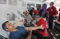 Hakkari'de Kan Bağışına Büyük İlgi