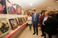 ALTıNOK ÖZ - Kartal Halk Eğitim Merkezi Meslek Edindirme Kursları Yıl Sonu Resim Sergisi Açıldı