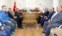 BURHAN KAYATÜRK - Kayatürk'ten Mustafa Yalçın'a Ziyaret