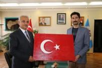 Kaymakam Kafkas'dan Başkan Başsoy'a Ziyaret