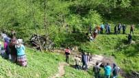 Trabzon'da yayla yolunda feci kaza: 4 ölü