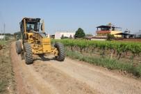 URGANLı - Turgutlu'nun Ova Yollarında Yaz Bakımı Başladı