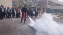 AFET BİLİNCİ - Van'da 'Afet Bilinci Ve Yangın' Tatbikatı