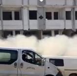 YIKIM ÇALIŞMALARI - Yıkım Çalışması Yapılan Otel Binası Çöktü