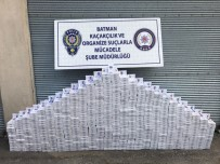 Batman'da Piyasa Değeri 117 Bin Lira Olan Kaçak Sigara Ele Geçirildi