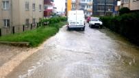 SAĞANAK YAĞMUR - Bilecik'te Sağanak Yağmur Etkili Oldu