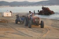 Burhaniye' De Plajlar Yaza Hazırlanıyor