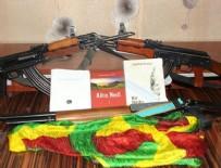 FETÖ şüphelisinin evinde, PKK ve DEAŞ materyalleri bulundu