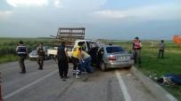 İmamoğlu'nda Trafik Kazası; 4 Yaralı