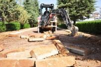 Karaman Belediyesi, Yunuskent Yürüyüş Parkurunu Yeniliyor
